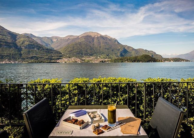 Morning green juice with this view 😍 visit our website and book your October retreat with us now! 💪🏻 @filariohotel #lakecomo #retreat #fitnessretreat #nowbooking #wakeup #mountains #lake #greenjuice #healthystart #fitness #healthyretreat #wellness #getfit #view #amazingplaces #healthytreats #healthfood #bestretreats #retreat2016 #getaway #healthyholiday #yoga #pilates #hiit #yogaretreat