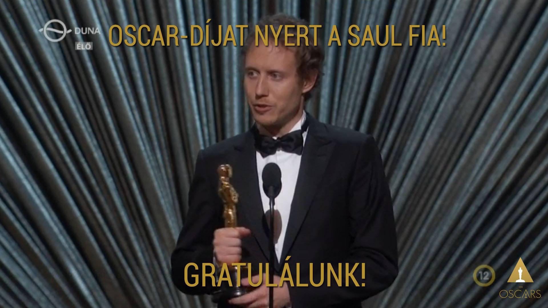 Congratulations to the Oscar-winning Son of Saul.