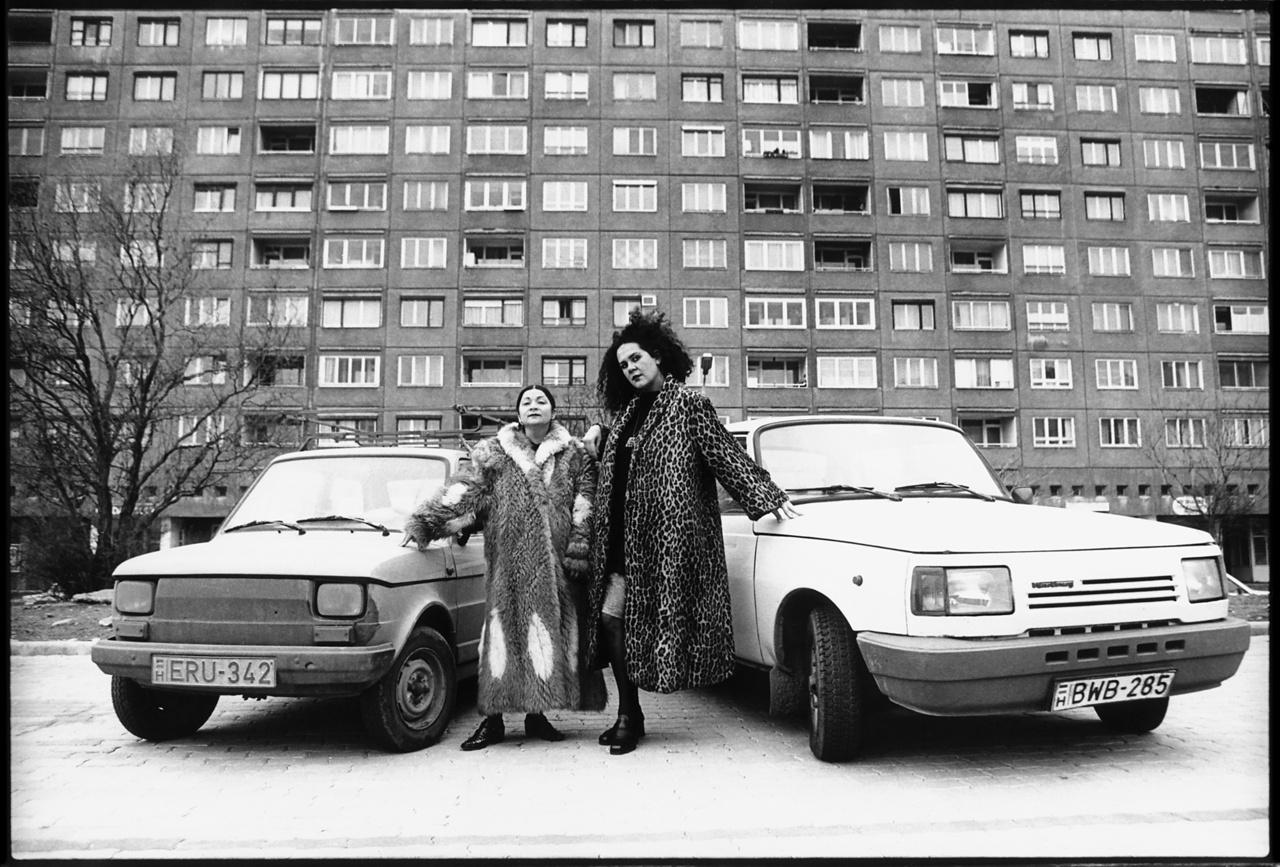 Óbuda, Szőlő Street, 1995, Lenke Szilágyi