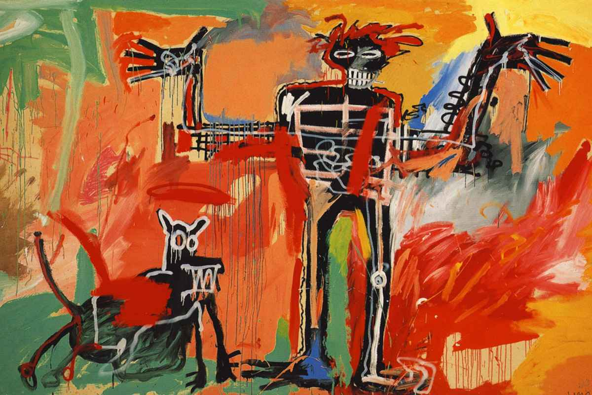 Basquiat's Boy and Dog in a Johnnypump