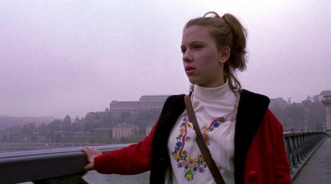 Johansson in Budapest in American Rhapsody