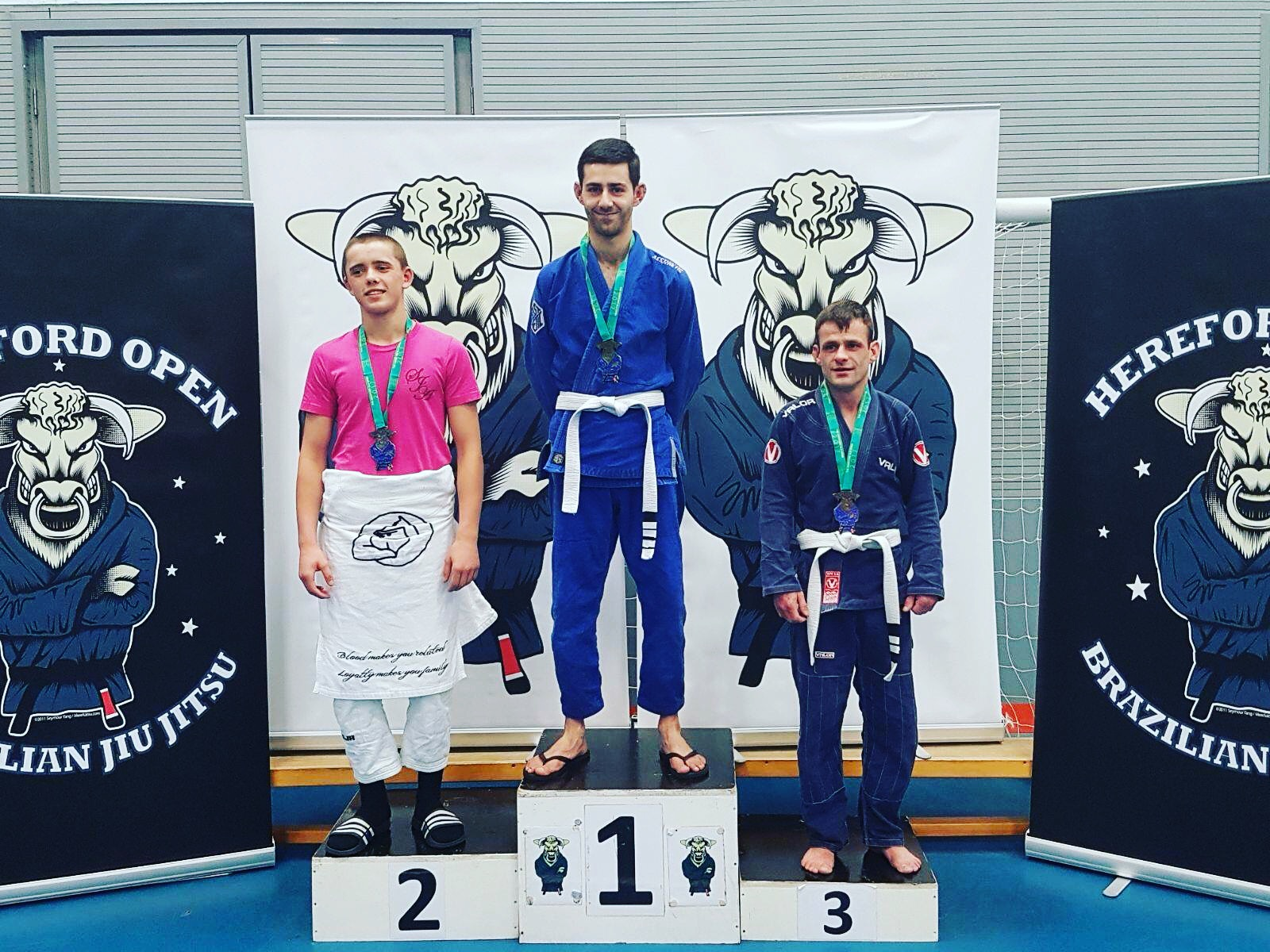 Jalal won gold at The Hereford Open