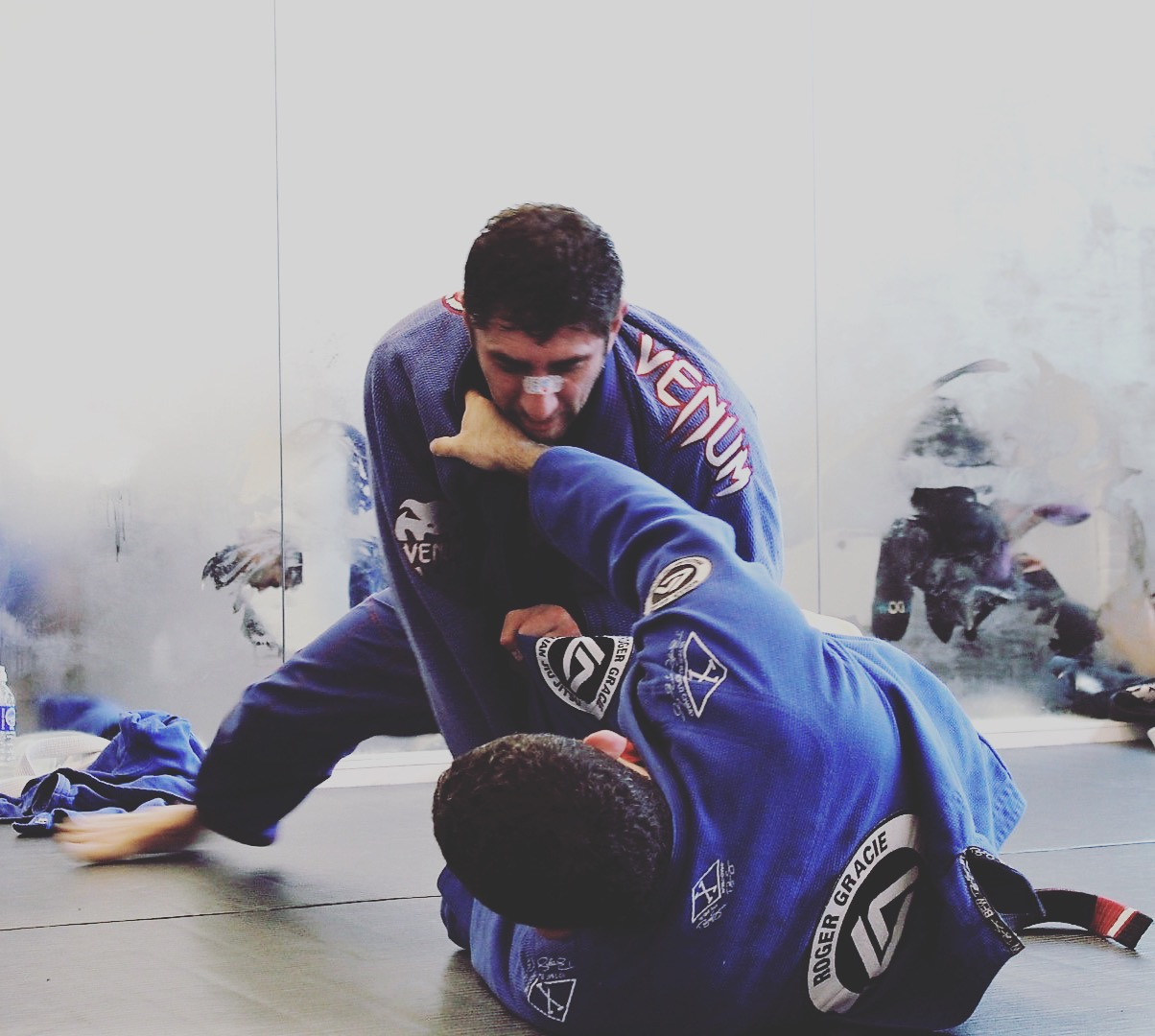 Brazilian Jiu Jitsu Advanced - This class is for those who have reached a certain level and can now understand more complex positions. It also includes a lot more sparring and pushes you to the limit. It's not for the feint of heart.