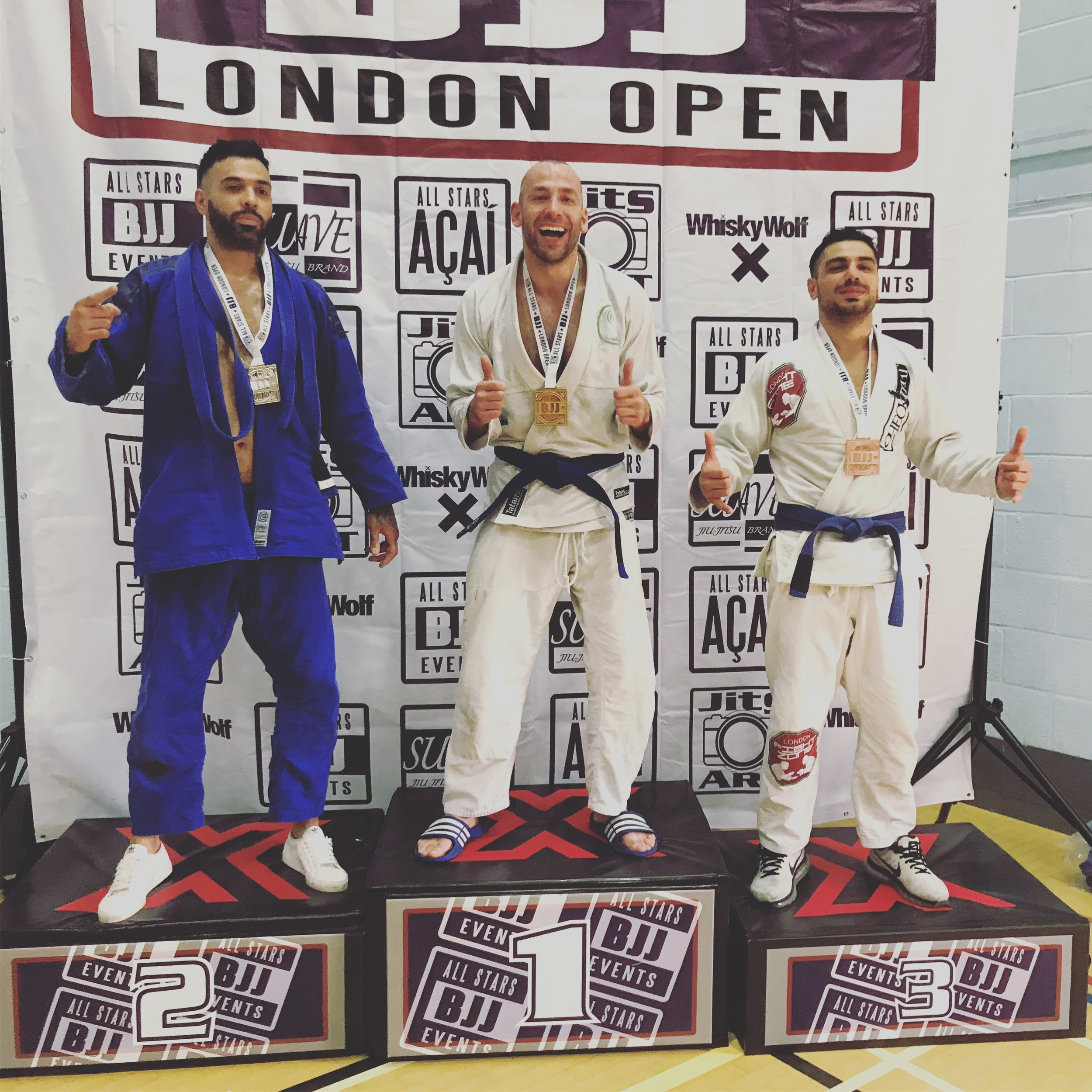 Andrius wins gold in his weight division