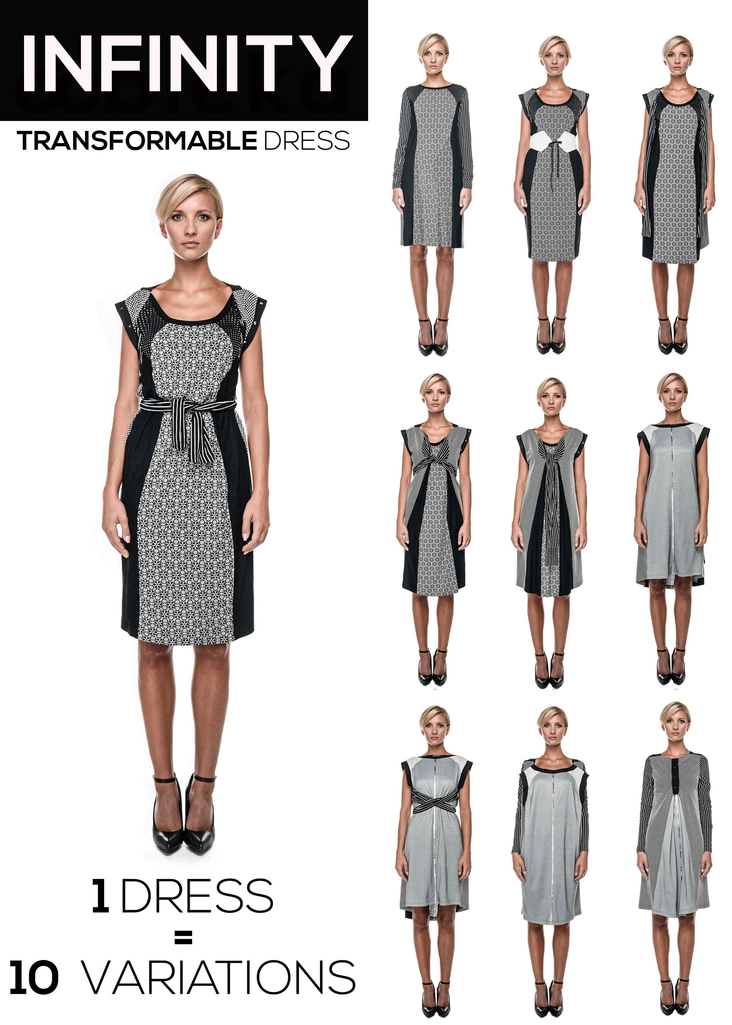 multifunkcionalna obleka nelizabeta