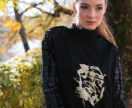 unikatna oblačila renata bedene in unikatni sitotisk