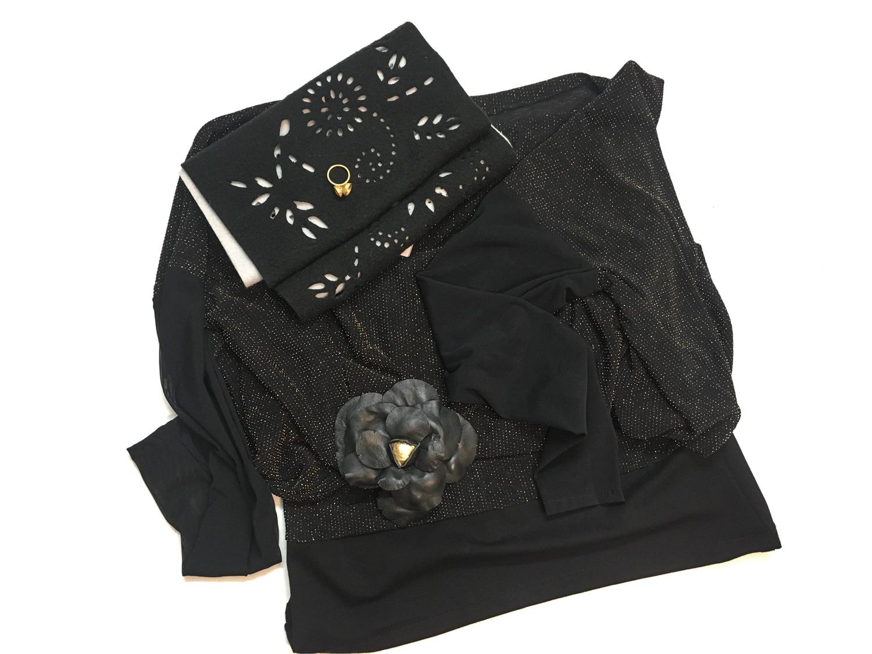 Renata Bedene majica, Nelizabeta šal, Lazovski roža broška, April prstan