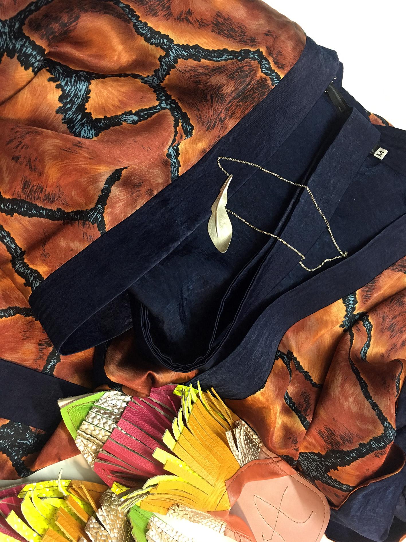 JSP kimono obleka, MOM ogrlica, Zelolepo copati