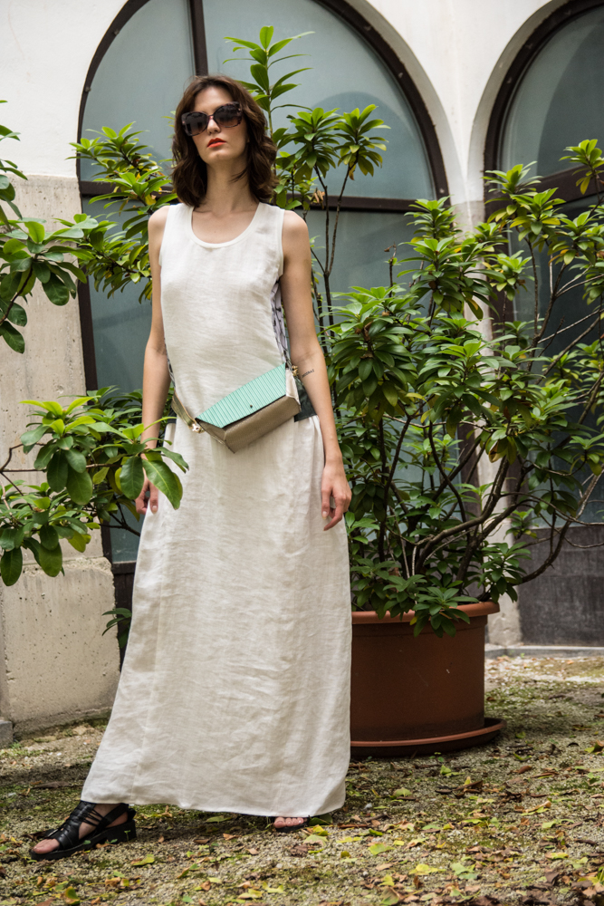 Obleka Renata Bedene 155€  Torbica Zelolepo 130€