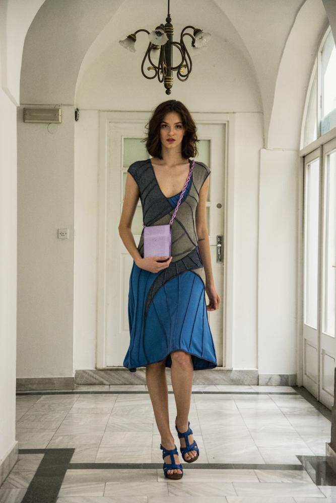 obleka Simona Kogovšek 175€  torbica Simona Kogovšek 175€