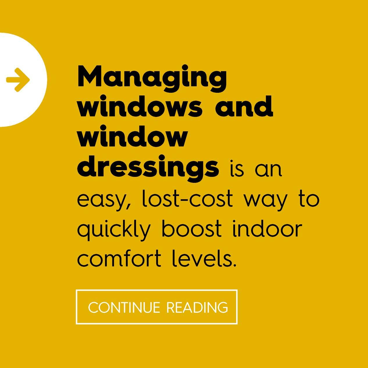 Managing windows and window dressings