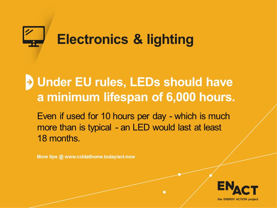 EU rules for LEDs