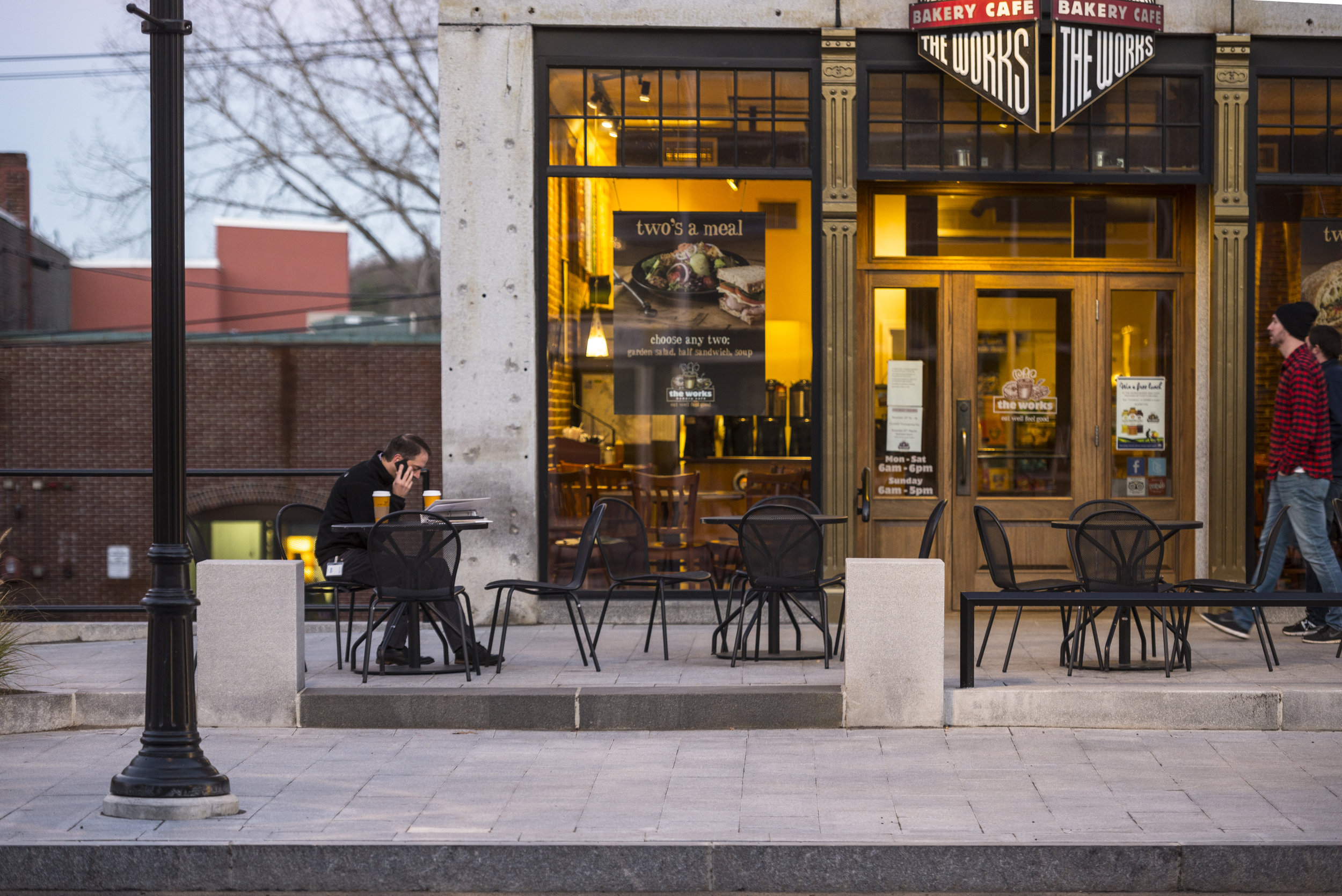 Downtown Concord is where our placement sites are located, with restaurants, Pubs, cultural attractions and unique shops (Photo COurtesy of the Concord Main Street Project)