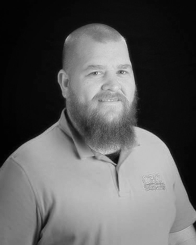 Justin Addy - Design Associate   Justin has served as a Design Technician since November 2015 after previously working for CEC in 2005. Justin has over 10 years of experience in construction, and works with project managers and engineers in the design phase of residential, commercial, and utility projects. Justin is from Irmo, South Carolina and enjoys spending time with family and carpentry projects when away from the office.