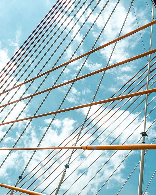 Bridging the gap . . #shotoniphone #bridges #bridgeview #brooklyn