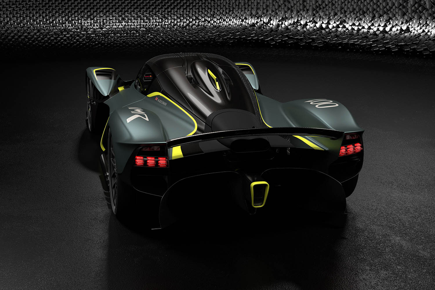 Aston Martin Valkyrie with AMR Track Performance Pack - Stirling Green and Lime livery (2).jpg