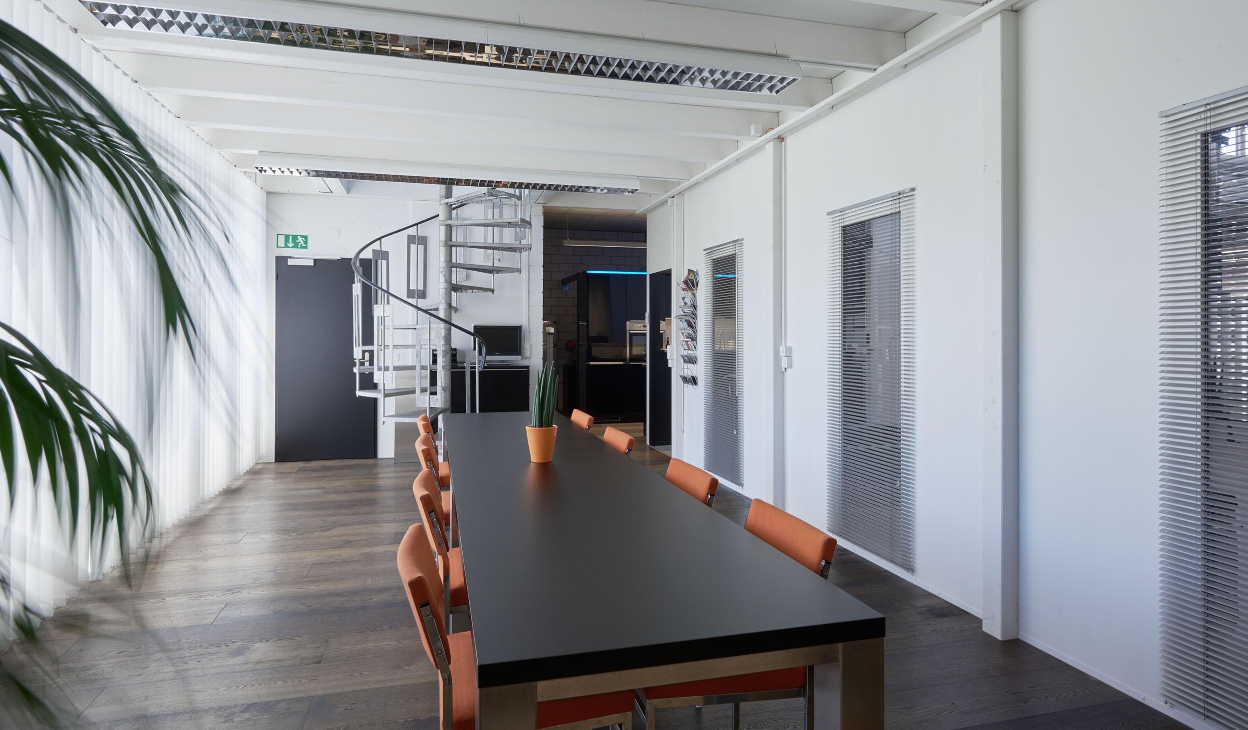 Fotostudio, Sitzungszimmer