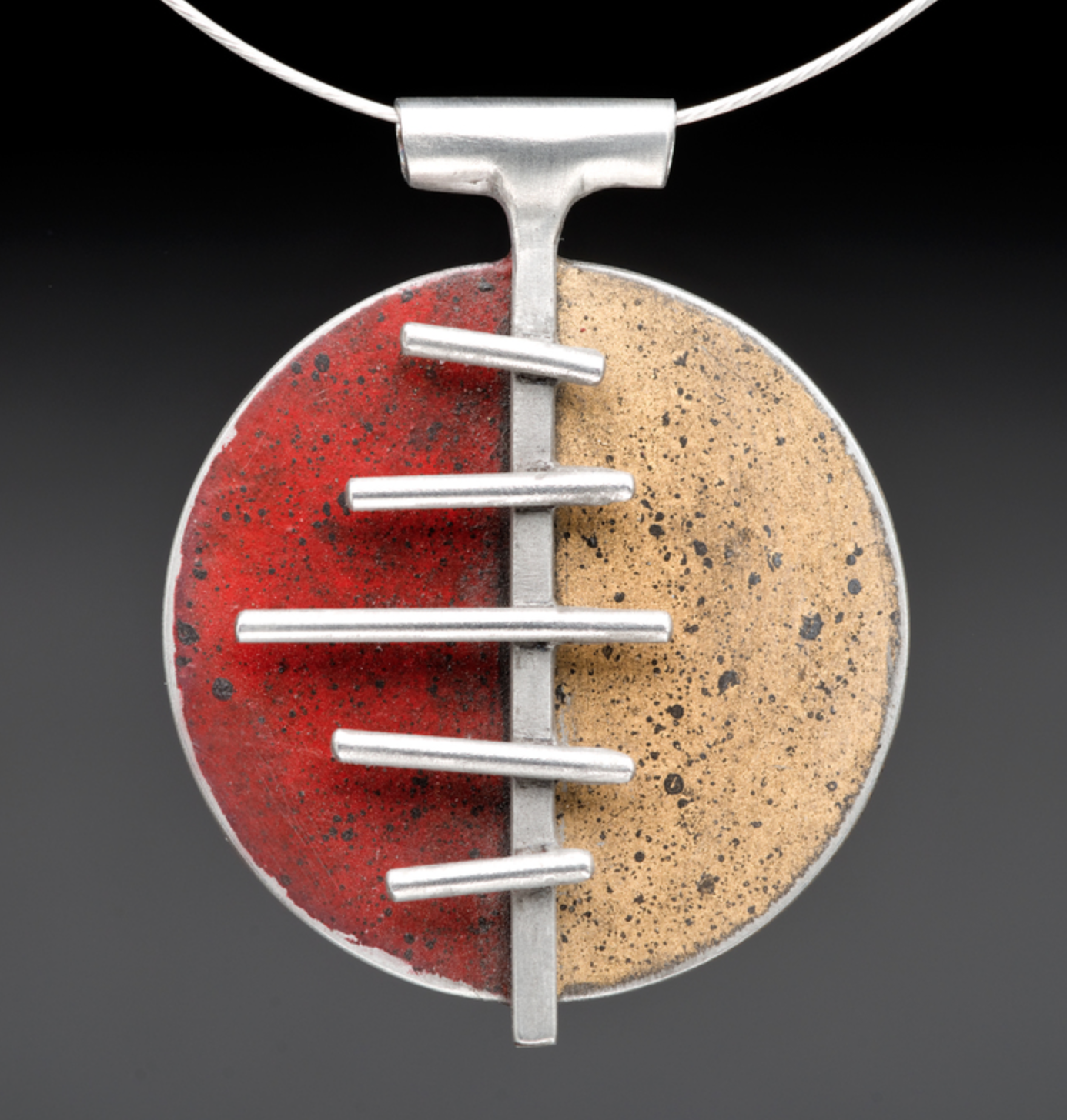 Eric Candee - http://www.goodcarmajewelry.comGood Carma Jewelry is created from Upcycled materials. We harvest timeworn metals from vintage automobiles, old farm equipment and salvage yards. We combine these elements with fabricated stainless st
