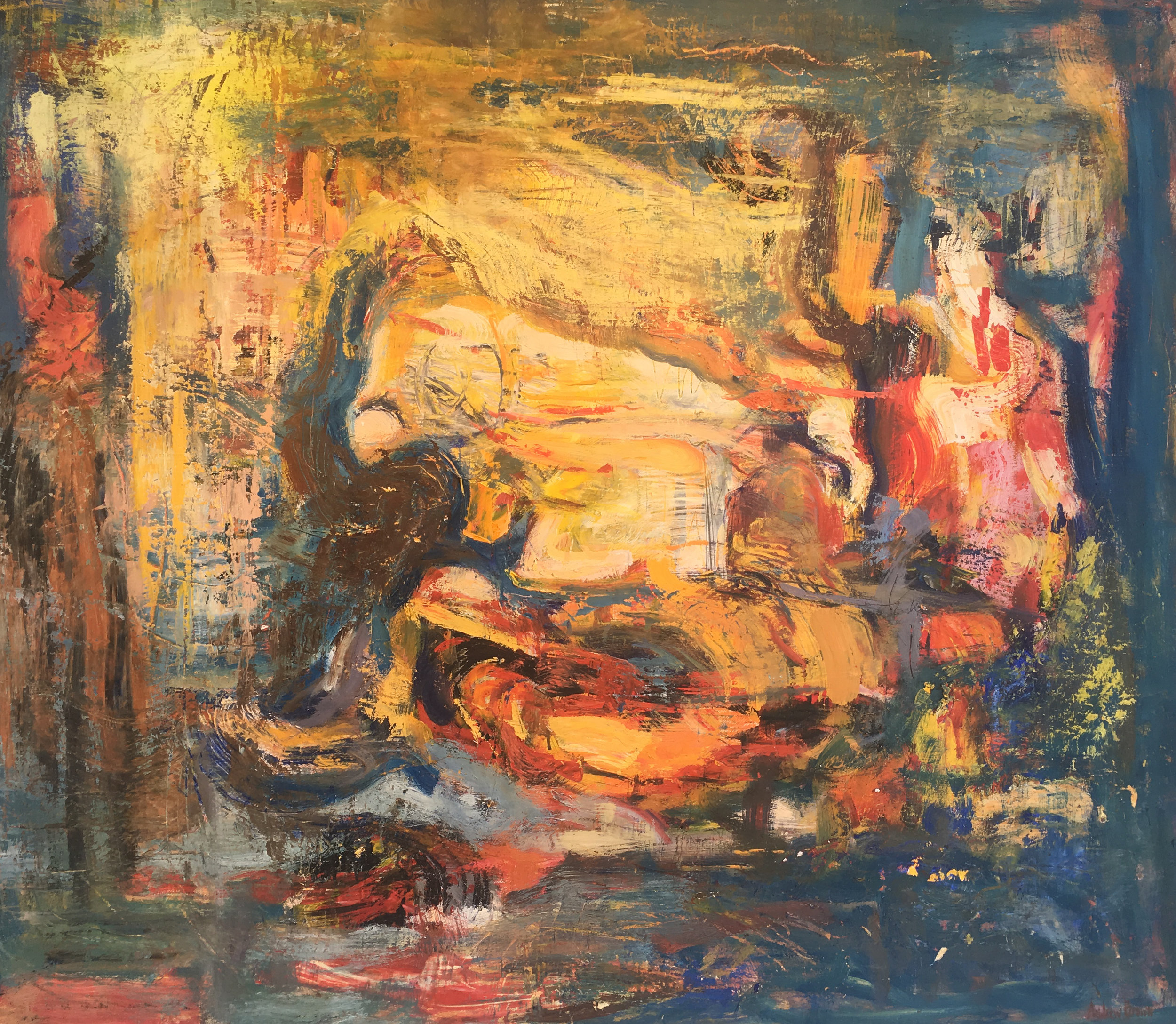 Andrew Brown   - http://www.breckenridgegallery.comWorking both with oil and acrylic, Andrew Brown enjoys pushing the limits of what can be accomplished with mediums, creating depth, texture, and authenticity in his pieces both abstract and representational. After studying under his father, acclaimed artist Gordon Brown, for a number of years, Andrew has found his own distinct style.Andrew is featured at Breckenridge Gallery on Main Street, Breckenridge