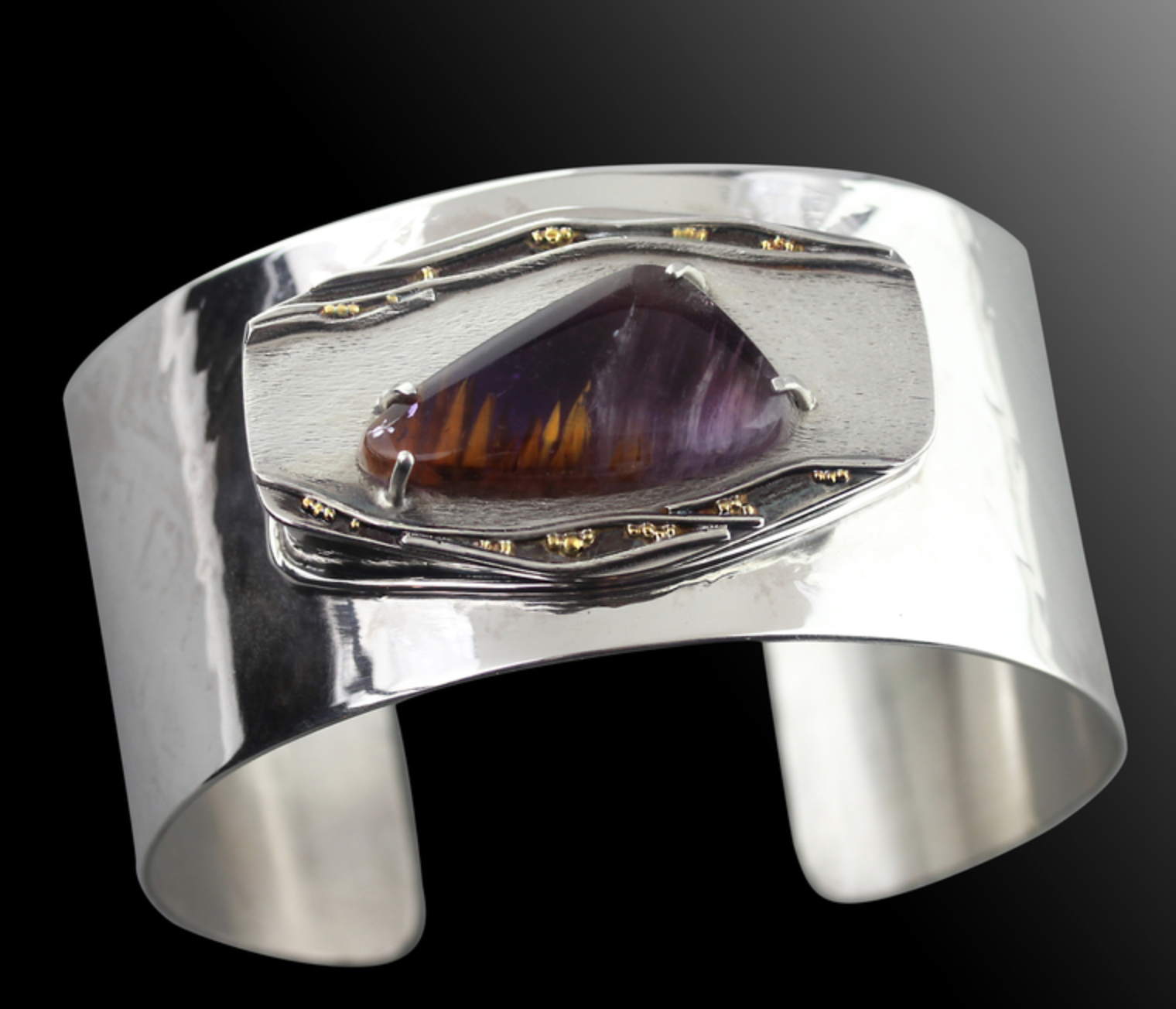 Janet Alexander - http://janetalexander.netI create handcrafted by combining unusual stones with complimentary textures, and metals creating contemporary distinctive jewelry designs. I work in sterling silver, fine silver, 14kgold or 22k gold.