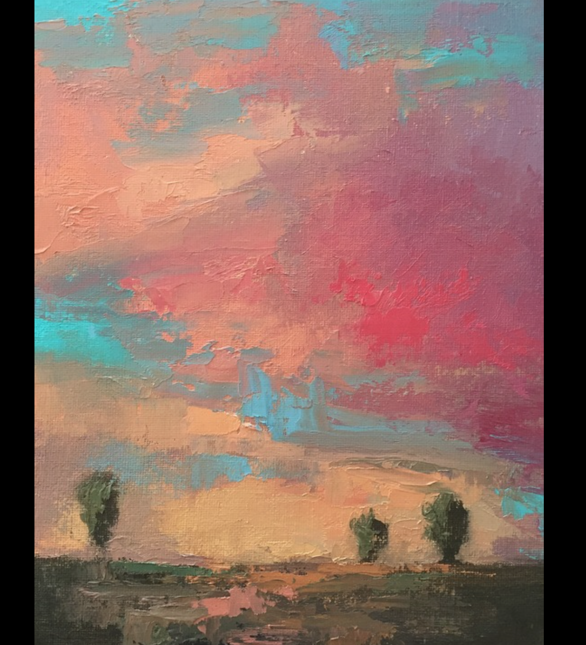 Mark Johnson - http://www.markjohnsonart.comAtmospheric landscapes and skyscapes in oil on canvas, using luminosity, color, and light to draw the viewer into a dreamy world of memories and imagination.