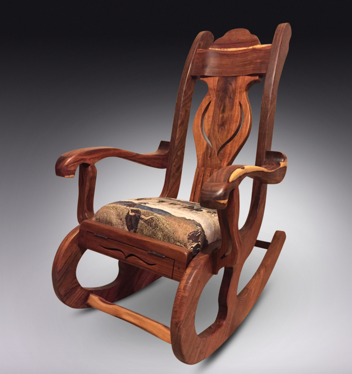 Clyde Thompson - Exotic Hardwood used to create these