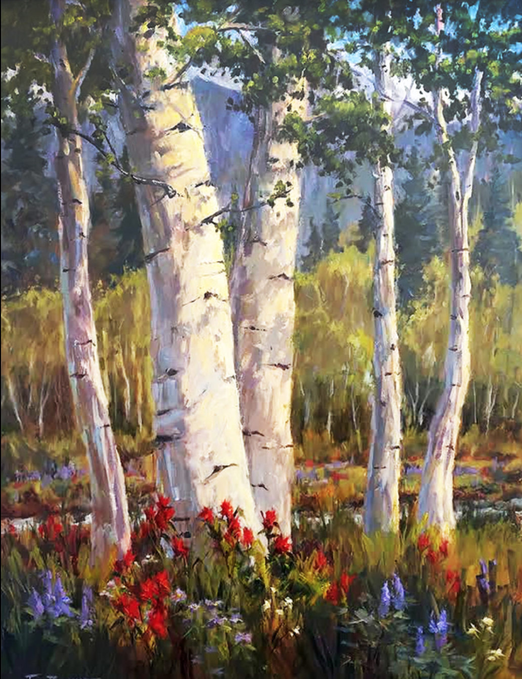 Jan Bushart - http://www.janbushart.comI paint impressionistic oil paintings on location in Colorado and Hawaii. My goal is to capture the light and feeling of a particular place in time. I am the founder of Plein Air Painters of HI.
