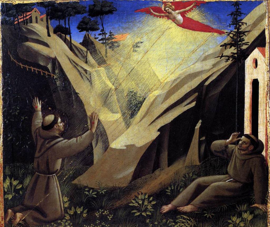 Stigmata of St. Francis of Assisi -
