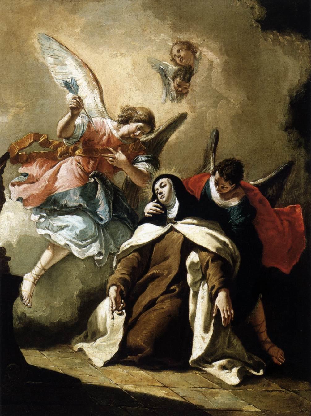 The Ecstasy of St. Theresa of Ávila -