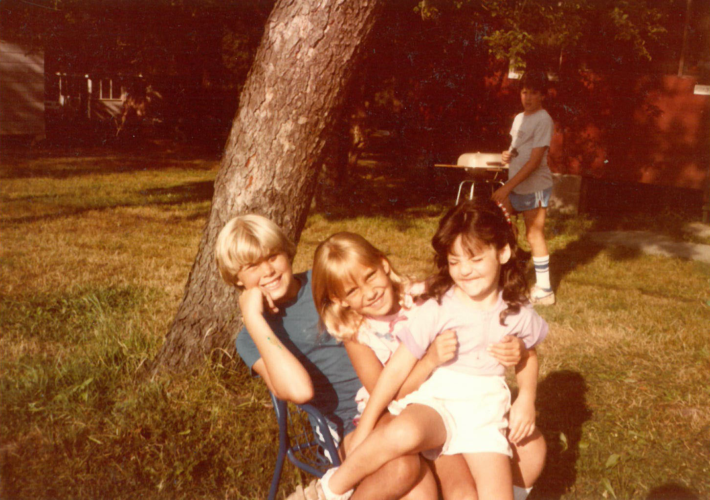 Author, Sister and Cousins, Rosmarins, Monroe, NY