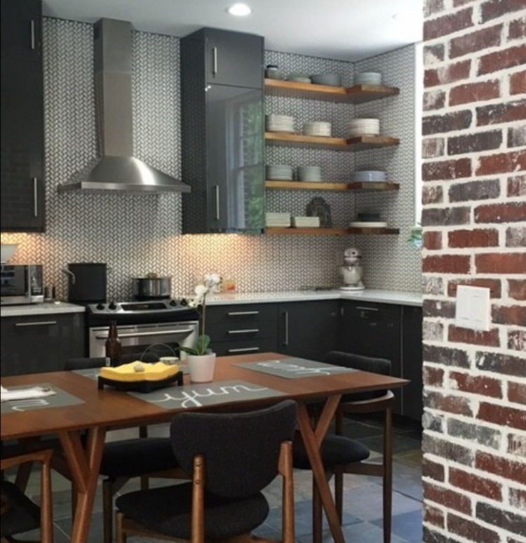 Just B Designs top interior designer in jacsksonville open concept kitchen