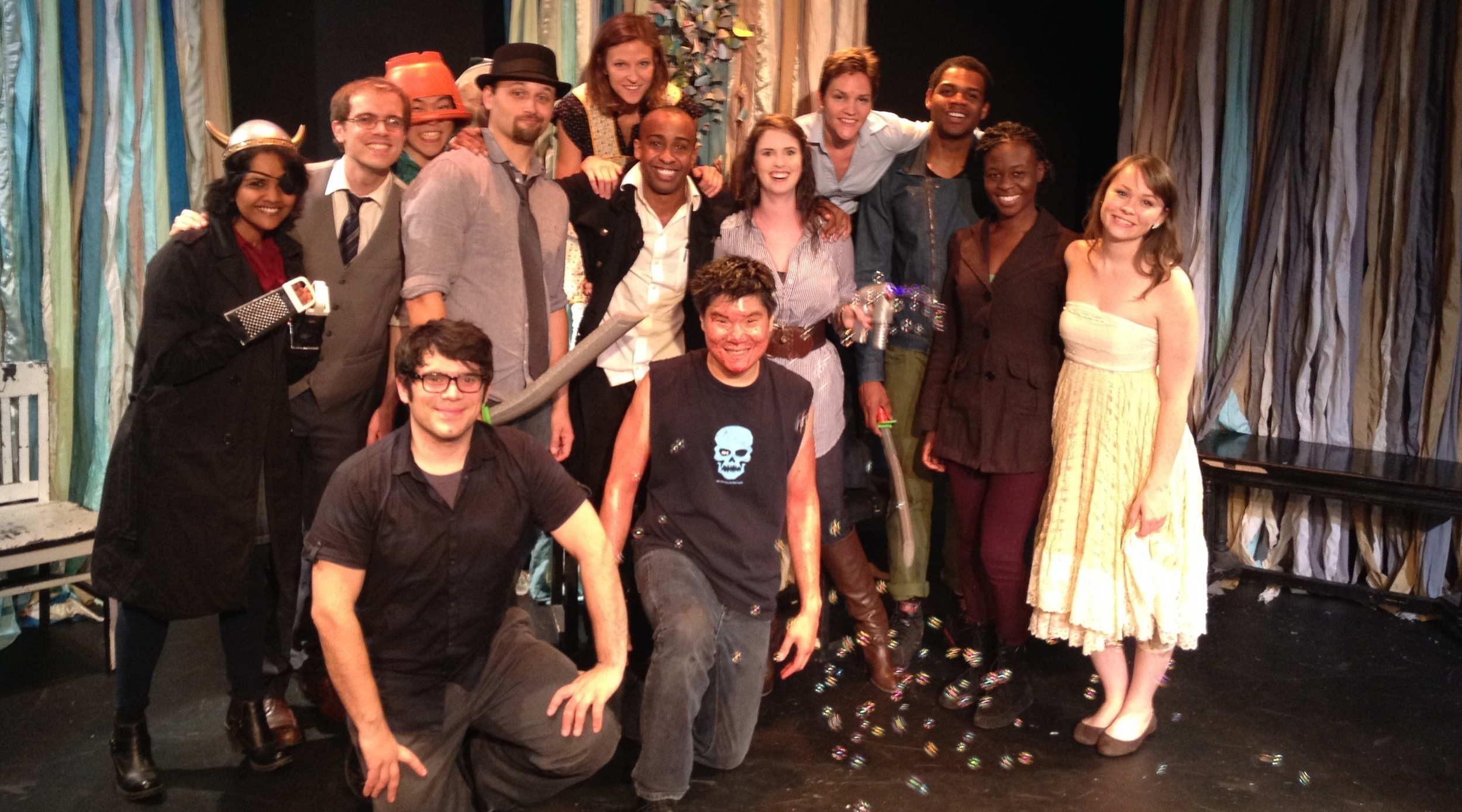 The cast of MUCH ADO ABOUT SOMETHING at the 2014 Hollywood Fringe Festival.