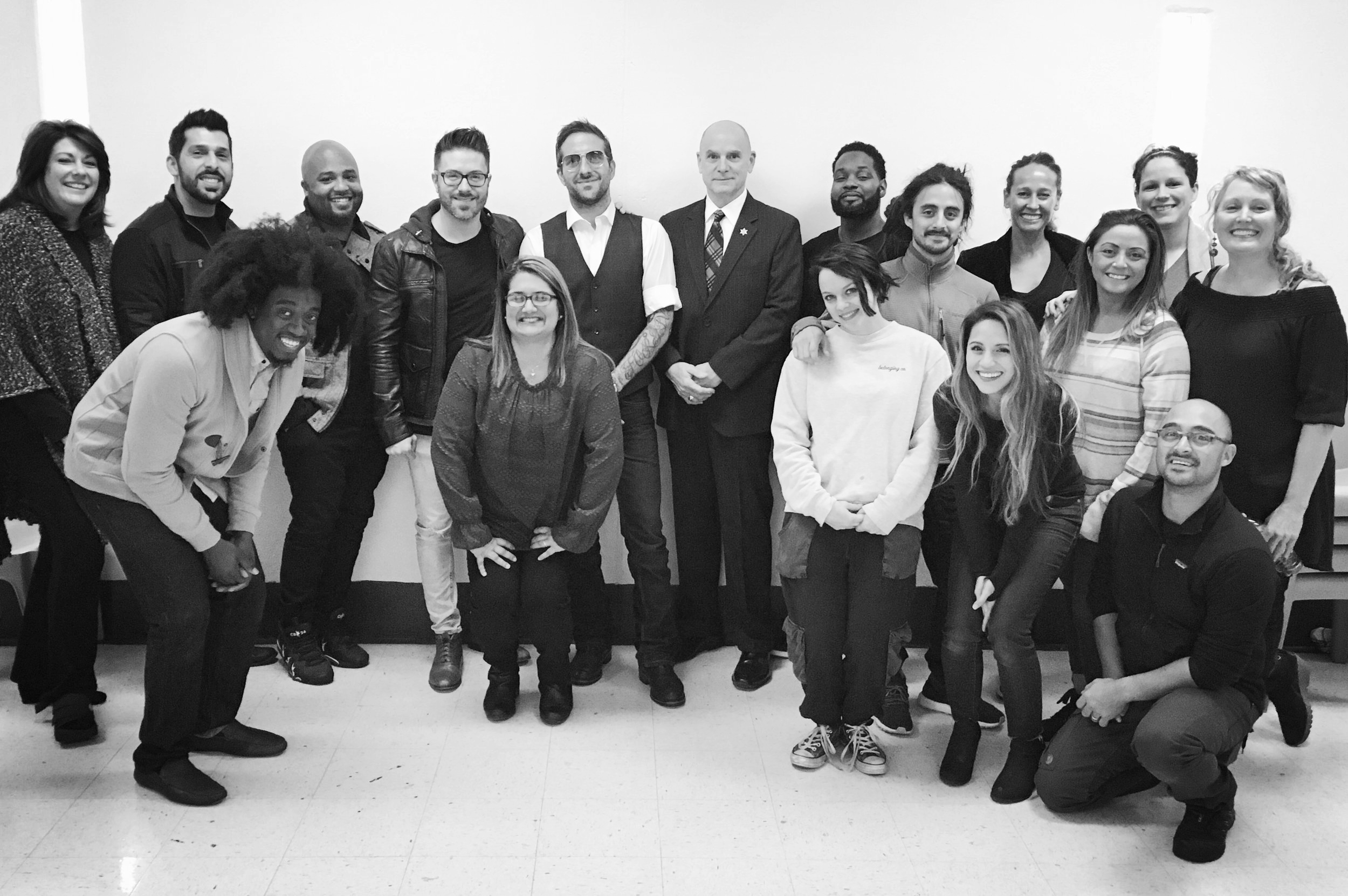 Danny Gokey & Band and SMTP Staff and Volunteers in Women's Corrections