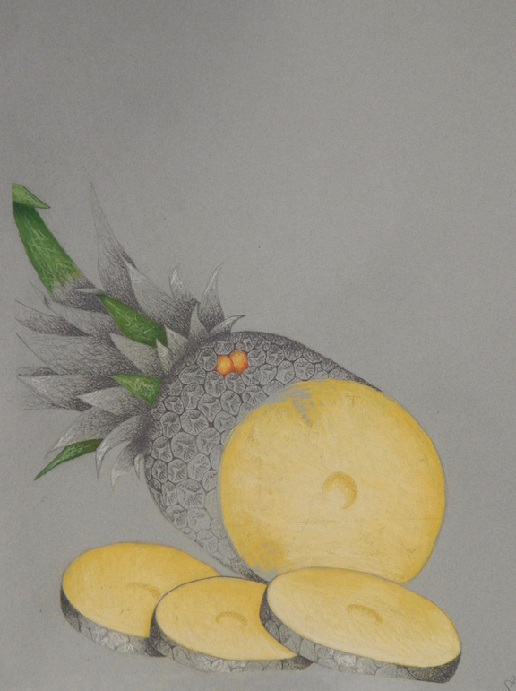 """Assignment:  Ordinary to Extraordinary   Media: graphite and colored pencil  Size: 30"""" x 22"""""""