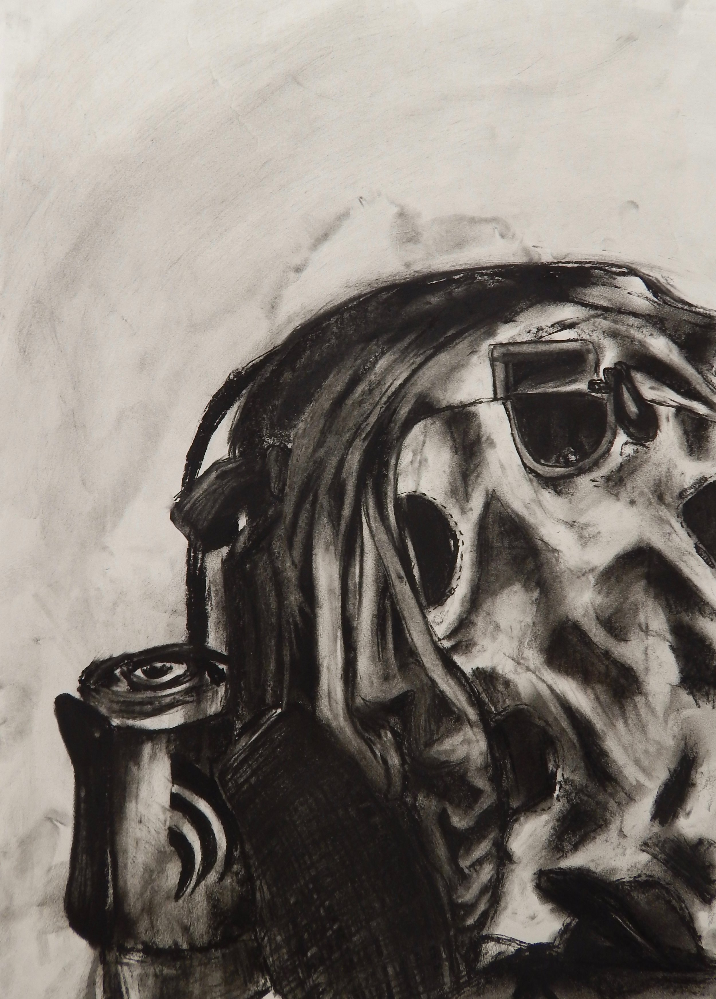 """Assignment:  Ordinary to Extraordinary   Media: charcoal  Size: 30"""" x 22"""""""