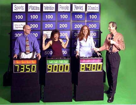 Game show play
