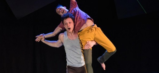 "Almanac Dances Toward a Classical Ideal of Equality - May 23, 2019 in thINKingDANCE""The artists' ultimate achievement of communitas is perhaps more meta. Reaching equality in an unstructured society, and certainly in a theater collective, is ever changing, never static. With half of the original cast and founding members of Almanac having moved on from the group, the show goes on. Perhaps Almanac's offstage society is in fact the communitas in question."" Read the articlePhoto by Dan Kontz"