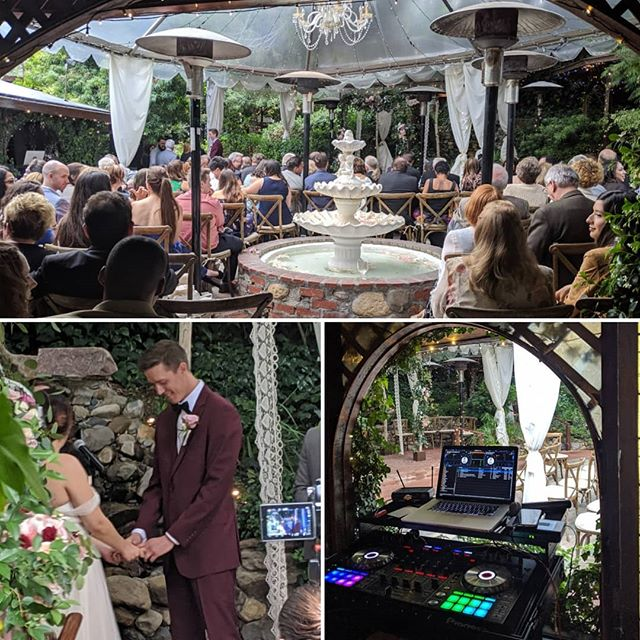 This is where the magic happened last week! Wedding season 2019 is in full effect! @innofthe7thrayweddings #weddingday #weddingdj #wedding
