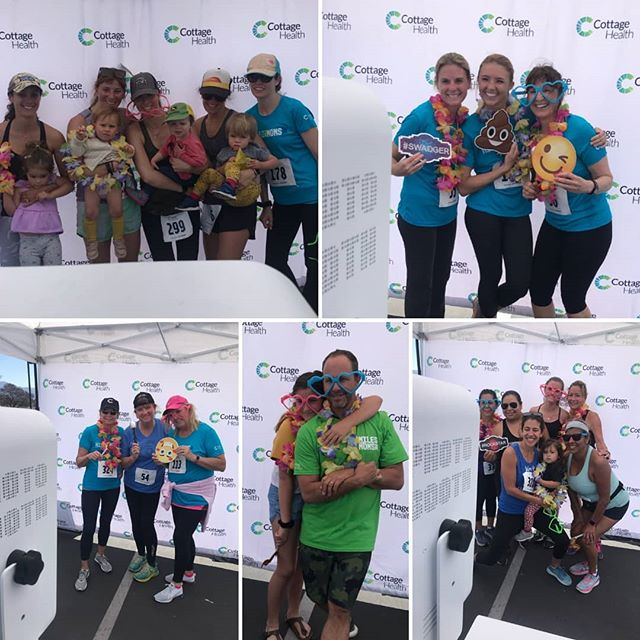 Non-stop fun for the Miles 4 Mom's 5k this year! Thank you for having us! #photobooth #mom #run #5k