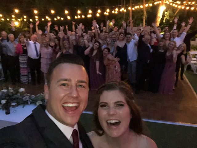 Just love creating special moments like these for my clients! The selfie is still in baby! Special shot out to amazing vendors who made it 💯 perfect! #dj #ilovemyjob #weddingseason #wedding #weddingday #weddingdj 📷: @just_inb