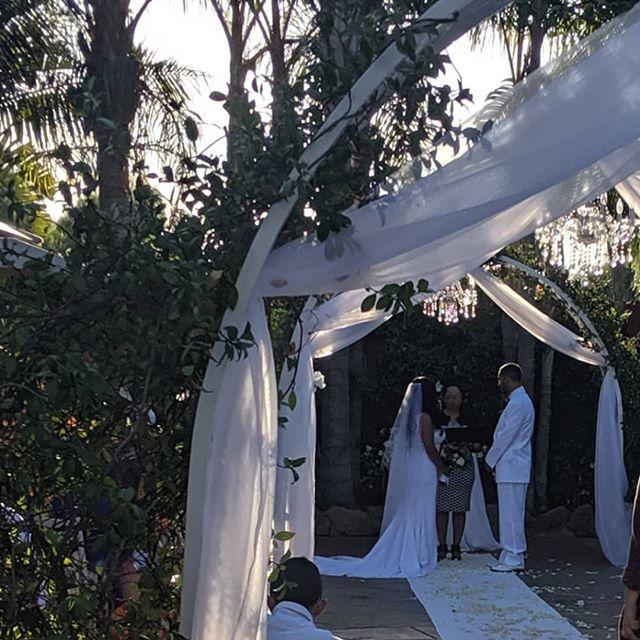 #Weddingwednesday to last weekend's paradise wedding for Y&E congratulations! #weddingseason #weddingsinpo #weddingdj #ido #bride