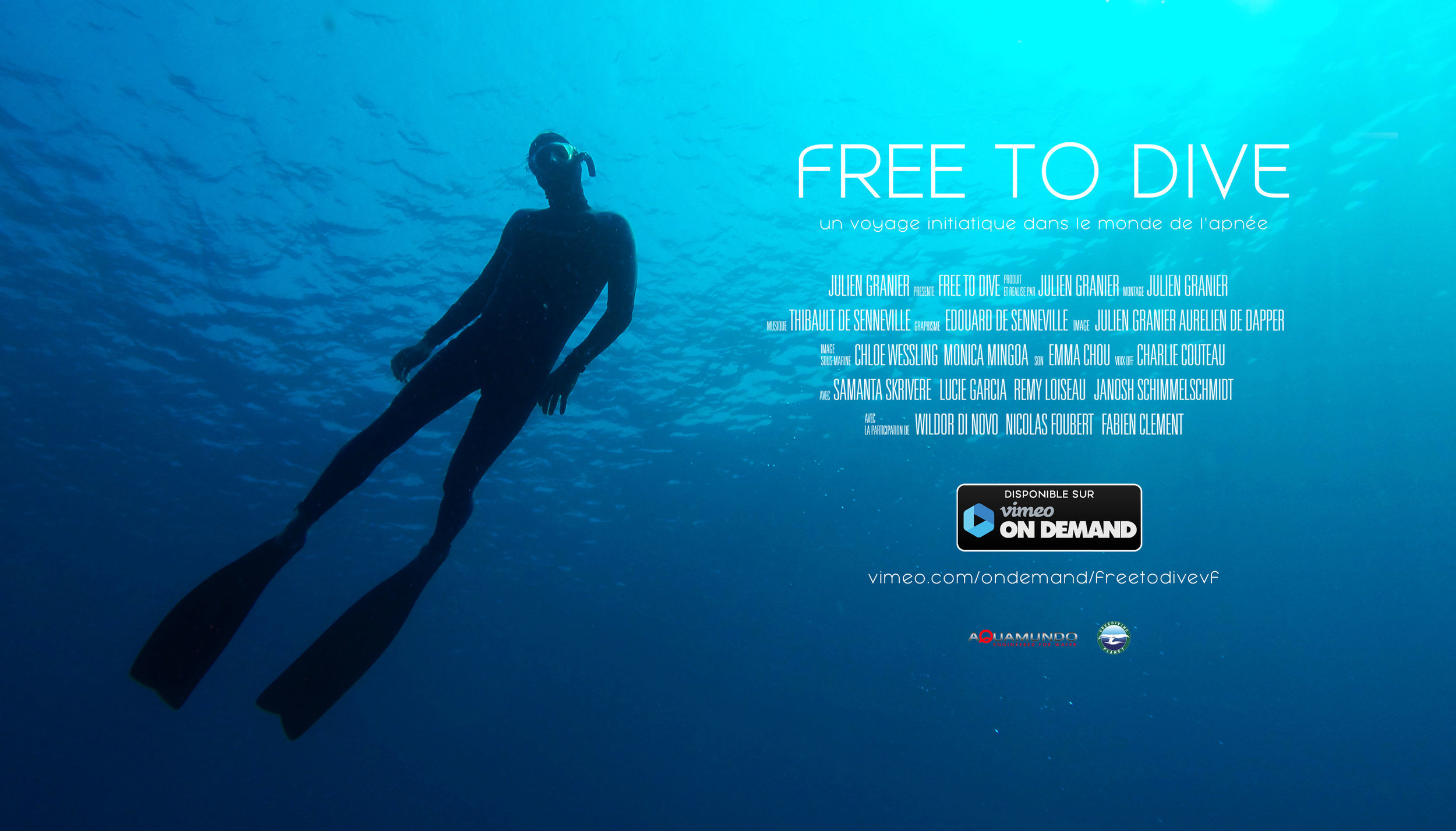Free to Dive - Documentaire VOD