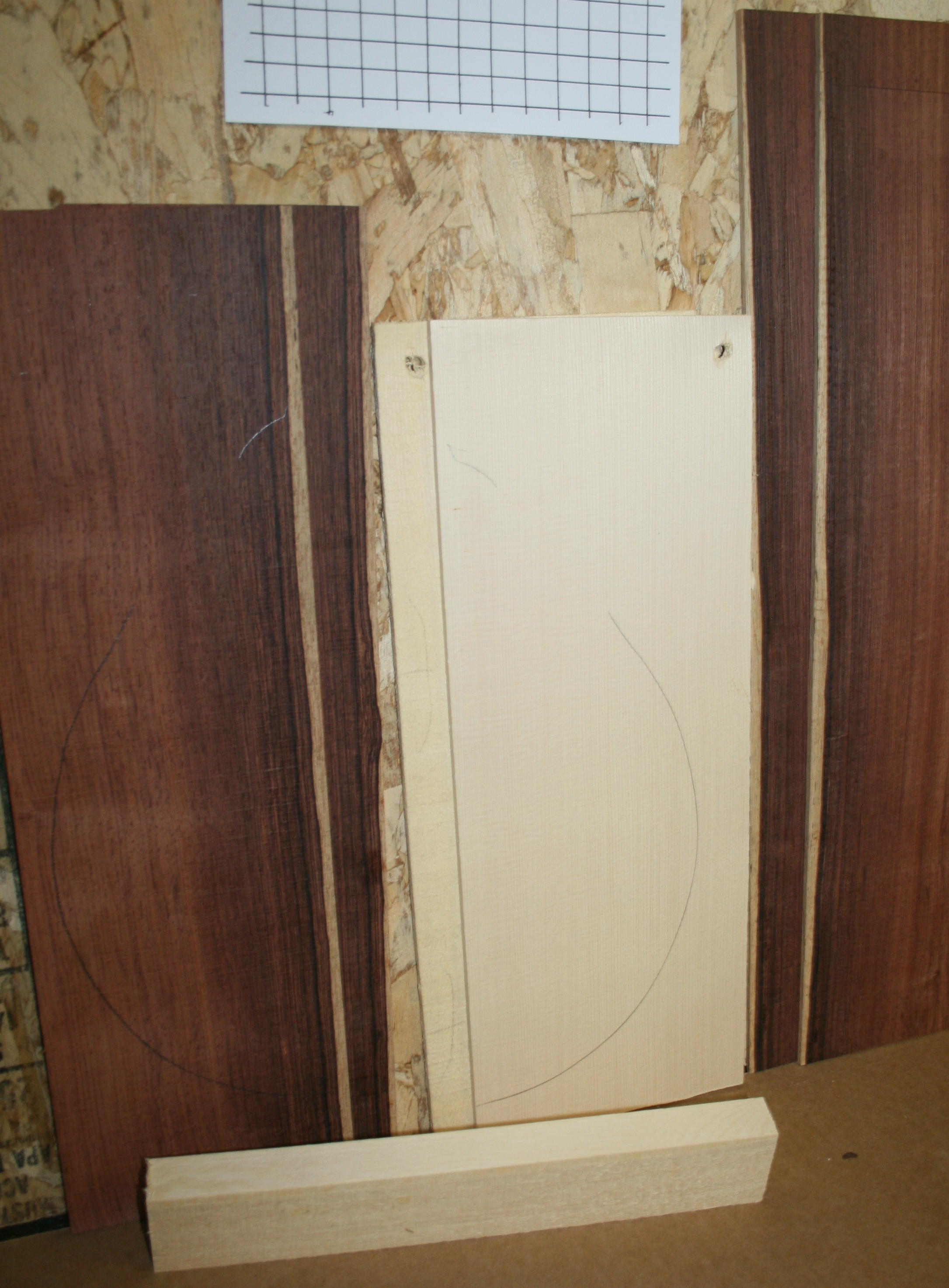 Flat Mandolin Set-Rosewood/Spruce