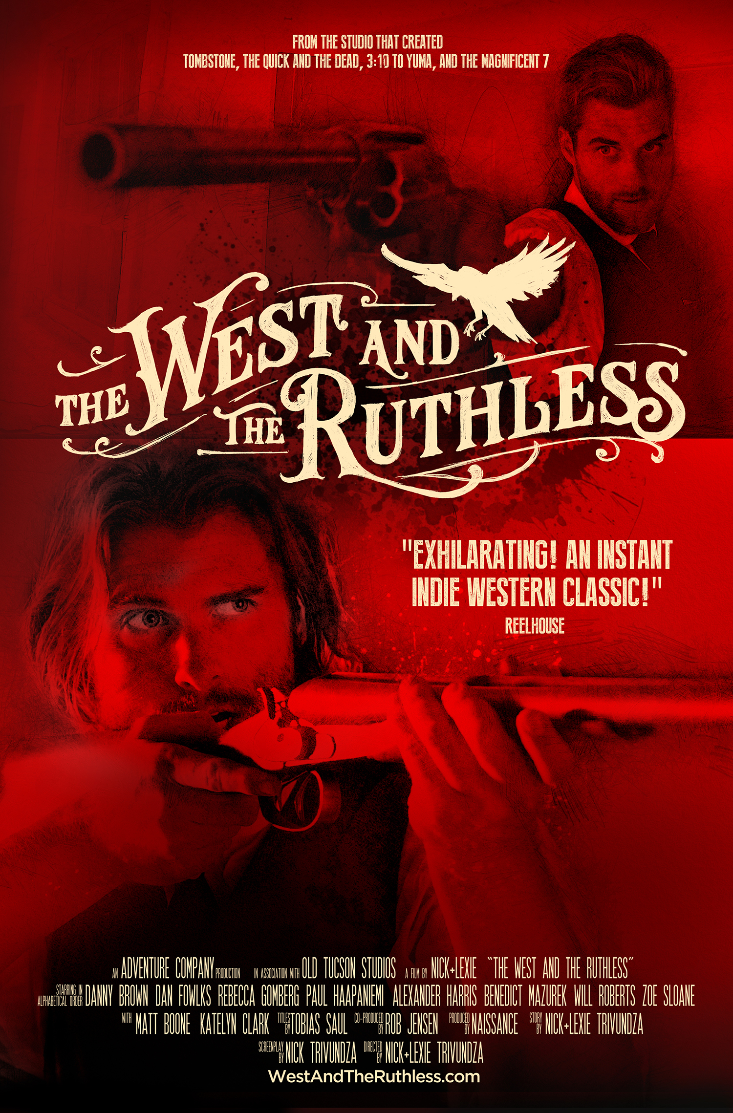 The West and the Ruthless, International Poster 1