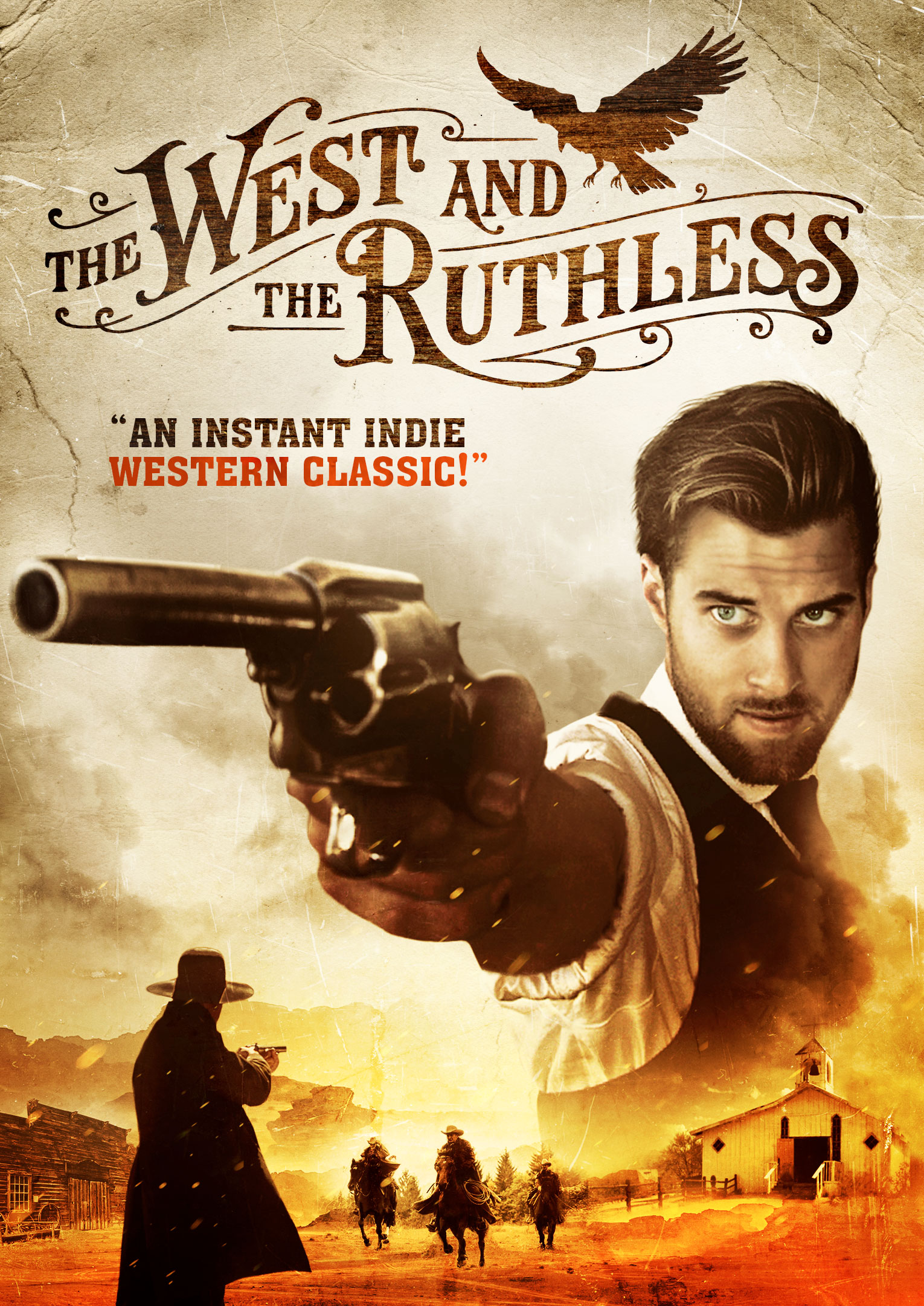 The West and the Ruthless, Cover (North America, Australia, New Zealand)