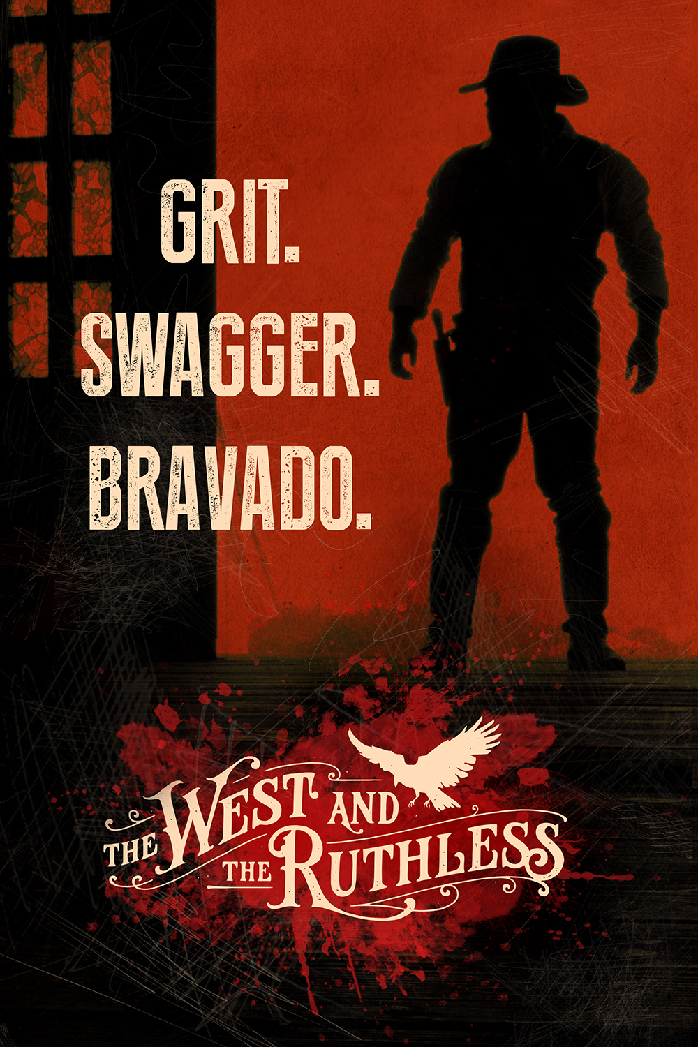 West and the Ruthless, Cover (Global Release)