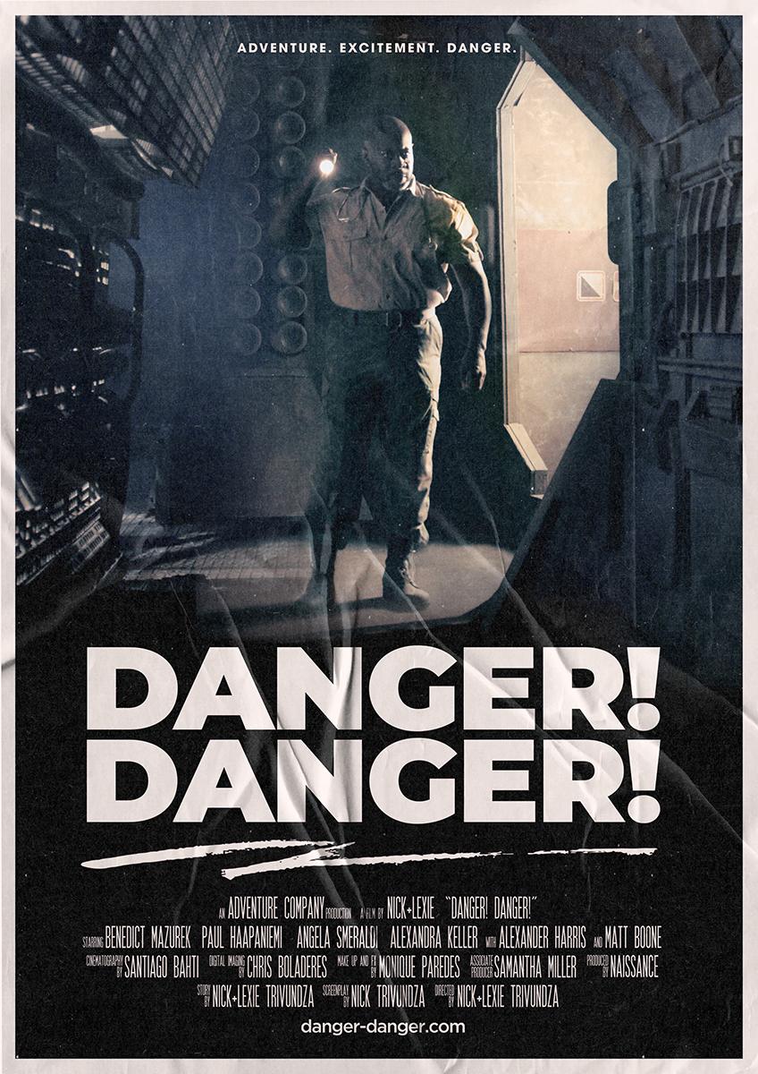 Danger Danger - 80s Poster 5 .jpg