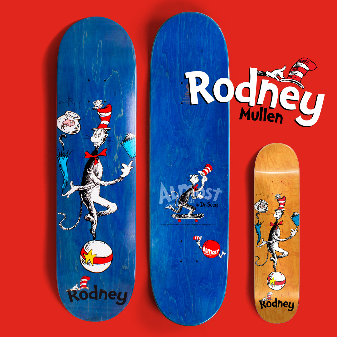 Almost_skateboards_Dr_Seuss_Cat_in_the_hat_Rodney_Mullen