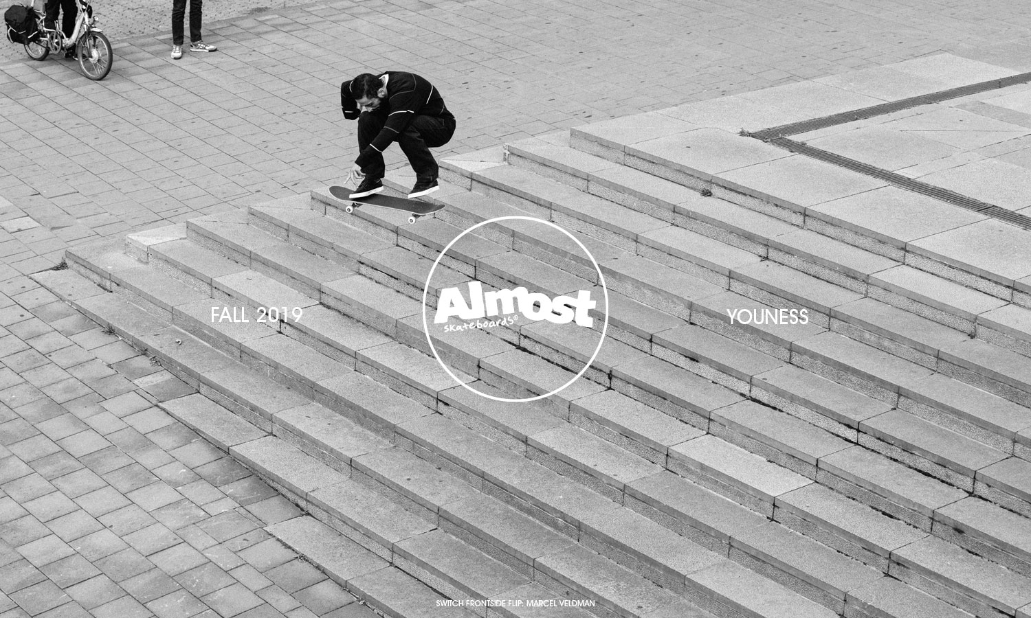 Almost Skateboards fall 2019 catalog lookbook youness amrani
