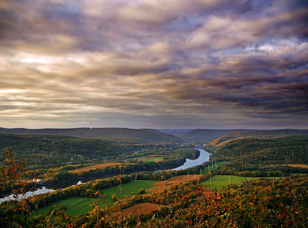 Susquehanna River Valley, photograph by  Nicholas A. Tonelli .